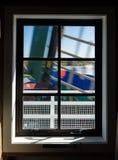 Windmill Window Royalty Free Stock Photos