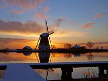 windmolen zon Royalty Free Stock Photography