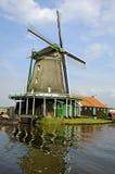 Windmill in Zaanse Schans. (the Netherlands Stock Photography