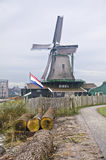 Windmill in Zaanse Schans Royalty Free Stock Photos