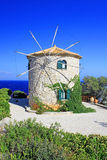 Windmill on Zakynthos island Royalty Free Stock Image