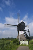 Windmill the Zandwijkse Molen stock photos