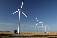 Windmills Stock Image