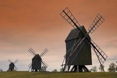 windmills Royaltyfria Foton