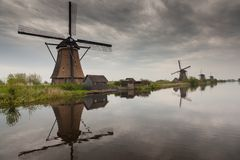 Windmills 2 Royalty Free Stock Image