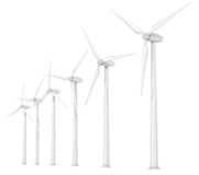 Windmills. Stock Photo