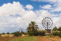 Windmills Majorca Stock Photography