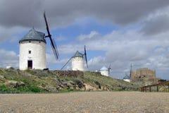 Windmills. Windmill at Castilla-La Mancha Stock Photography