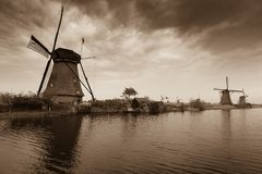 Windmills 3 Royalty Free Stock Image