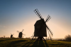 windmills Arkivbild