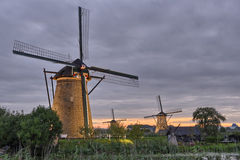 windmills Royaltyfria Bilder