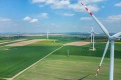 windmills Arkivbilder