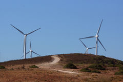 windmills Foto de Stock Royalty Free