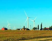 windmills Foto de Stock