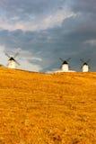 Windmills, Alcazar de San Juan Stock Image