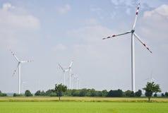 Windmills in Austria Stock Photography