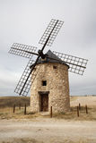 Windmills at Belmonte, Cuenca, Spain Royalty Free Stock Photos