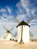 Windmills, Campo de Criptana. Castile-La Mancha, Spain Stock Photos