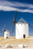 Windmills, Campo de Criptana Royalty Free Stock Photo