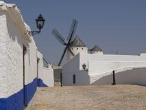 Windmills at Campo de Criptana royalty free stock photos