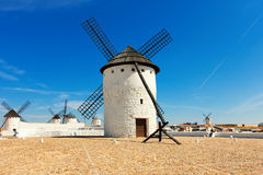 Windmills in Campo de Criptana Stock Image