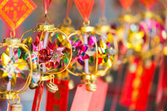 Windmills at Che Kung Temple stock photography