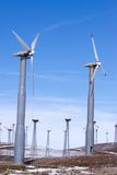 Windmills for clean energy Stock Photo