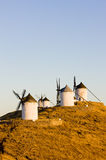 Windmills in Consuegra Stock Photo