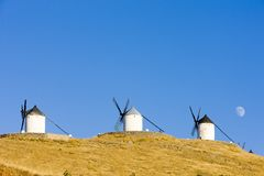 Windmills in Consuegra Royalty Free Stock Photo