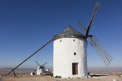 Windmills in Consuegra Royalty Free Stock Photos