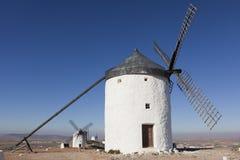 Windmills in Consuegra Royalty Free Stock Photos