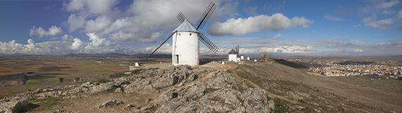 Windmills in Consuegra Royalty Free Stock Image