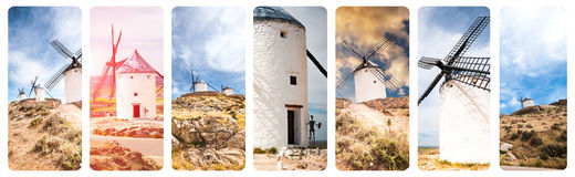 Windmills of Consuegra Royalty Free Stock Images