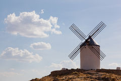 Windmills of Consuegra. In the La Mancha region of central Spain Stock Photography