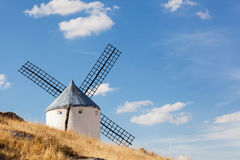 Windmills of Consuegra. In the La Mancha region of central Spain Royalty Free Stock Photo