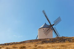 Windmills of Consuegra. In the La Mancha region of central Spain Stock Photo