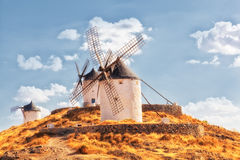 Windmills of Consuegra Stock Images