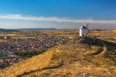 Windmills of Consuegra Royalty Free Stock Photos