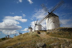 Windmills, Consuegra spain Royalty Free Stock Image