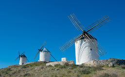 Windmills in Consuegra, Spain Royalty Free Stock Photography