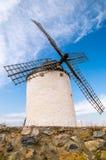 Windmills in Consuegra, Spain. Windmills in Consuegra in Spain Stock Photo
