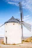 Windmills in Consuegra, Spain Stock Images
