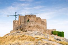 Windmills in Consuegra, Spain Stock Photo