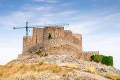 Windmills in Consuegra, Spain Stock Photo