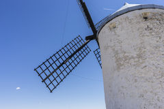 windmills of Consuegra in Toledo, Spain. They served to grind gr Royalty Free Stock Photo
