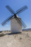windmills of Consuegra in Toledo, Spain. They served to grind gr Stock Photography