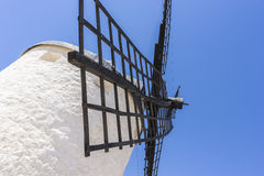 Windmills of Consuegra in Toledo, Spain. They served to grind gr. Ain crop fields Stock Image
