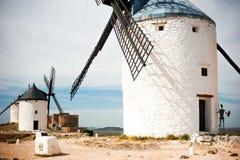 Windmills in Consuegra Stock Images