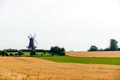 Windmills of Denmark Stock Photography