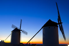 Windmills of Don Quixote Royalty Free Stock Photos